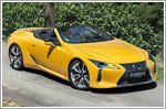 Car Review - Lexus LC 500 Convertible 5.0 V8 (A)