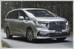 Honda Odyssey faces the world with a bold new look