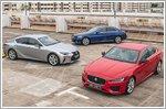 Comparison - Jaguar XE & Lexus IS & Mercedes-Benz C-Class