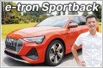 Video Review - Audi e-tron Sportback Electric 50 quattro Advanced 71 kWh (A)