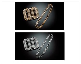Garson D.A.D Crystal Clip Chain