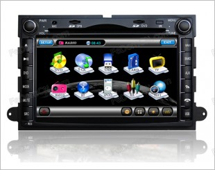 Explorer DVD Player (With GPS)