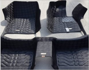 Neomat Mercedes S-Class 3D Checkered Car Mat