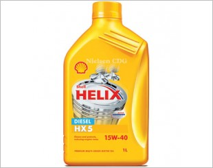 Shell Helix Diesel HX5 Engine Oil