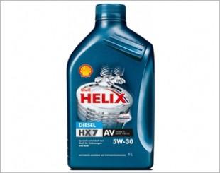Shell Helix Diesel HX7 AV Engine Oil