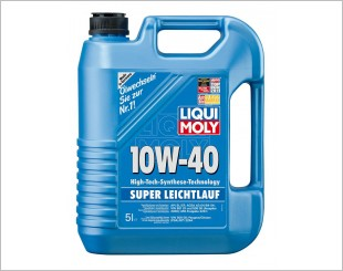Liqui Moly Super Low-Friction SAE 10W40 Engine Oil