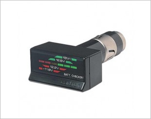 Carmate CT731 Battery Check