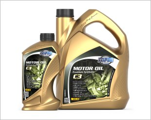 MPM Motor Oil 5W40 Premium Synthetic C3