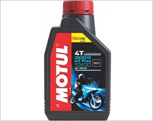 Motul 3000 Plus 4T 10W30 Reviews & Info Singapore