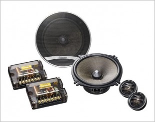 Pioneer TS-D1720C Component Speakers