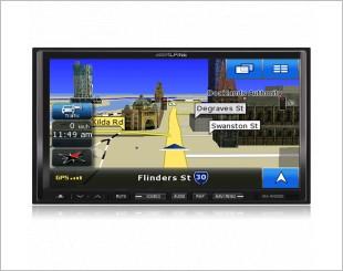 Alpine INA-W900E DVD Player
