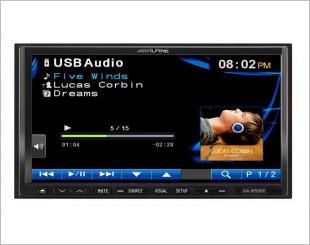 Alpine IVA-W520E DVD Player