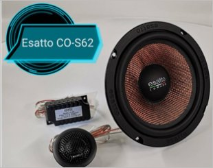 Esatto Comado CO-S62 Component Speakers