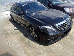 Mercedes Benz S350L (COE till 11/27)