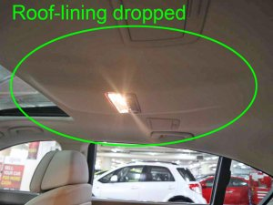 BMW 730LI Sunroof
