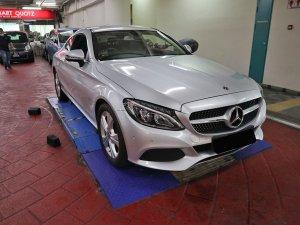 Mercedes Benz C180 Coupe (R17 LED)
