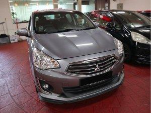 Mitsubishi Attrage 1.2 CVT