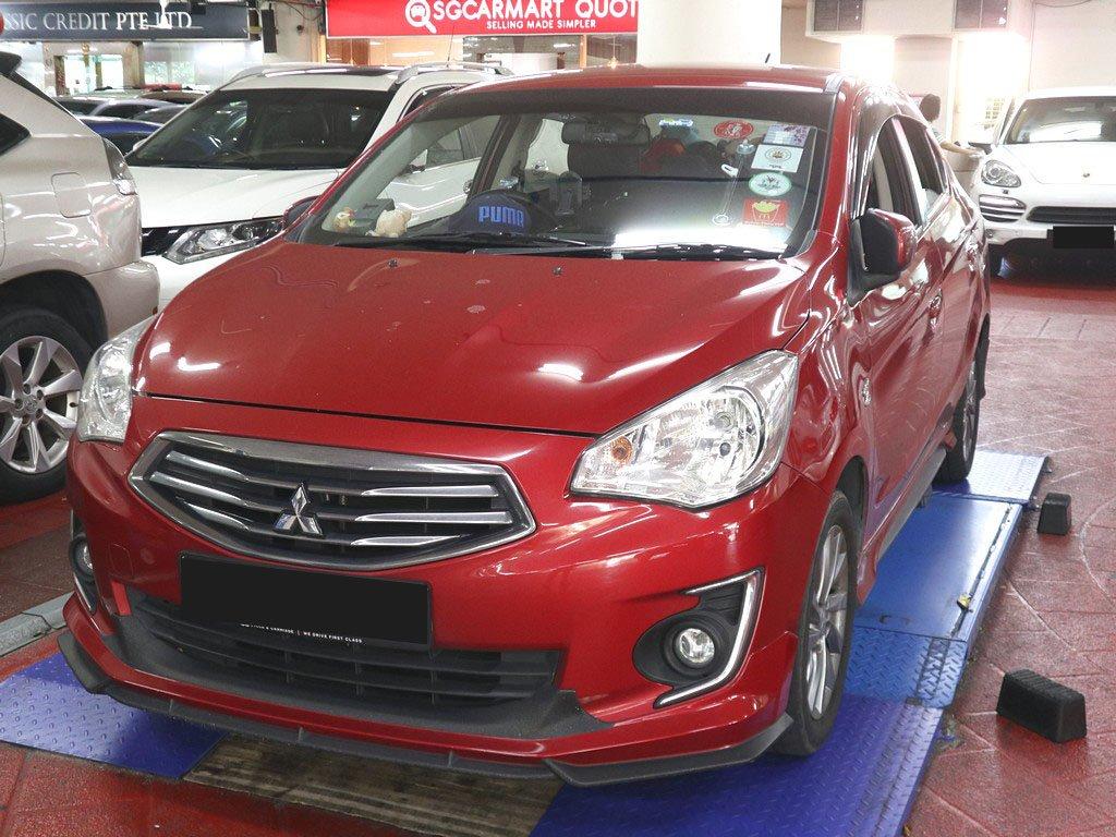 Mitsubishi Attrage 1.2 CVT (ROPC converted to Normal)