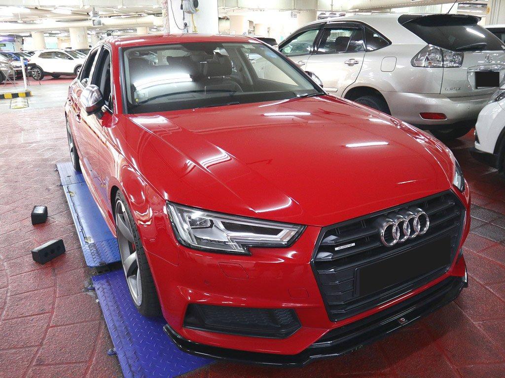 Audi A4 2.0A TFSI QU Design