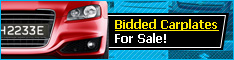 Bidded Carplate For Sale