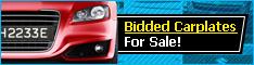 Bidded Carplate For Sale