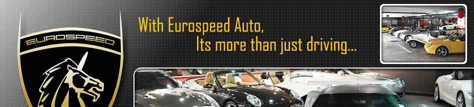With Eurospeed Auto, Its more than just driving